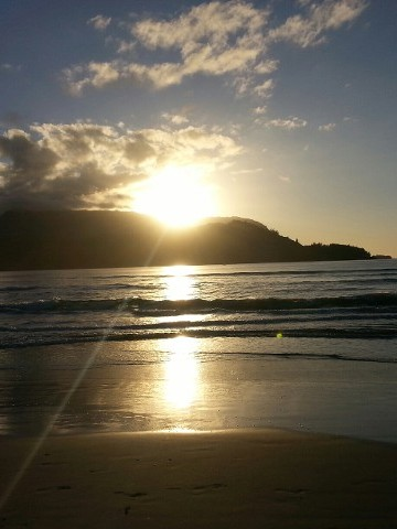 Sunset, Vacation Rentals And Monthly Rentals, Hanalei, HI