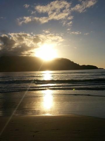 Sunset, Vacation Rentals And Monthly Rentals, Hanalei, HI